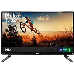 "TV 32"" LED Philco PH32C10DG HD com Conversor Digital 3 HDMI 1 USB"