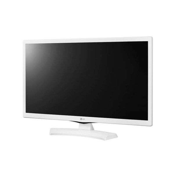"Tv Led 24"" LG 24mt49df-ws Hd Hdmi Usb FunçãoMonitor - Branco"