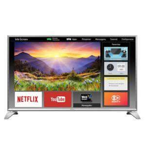 "Smart TV LED 43"" Full HD Panasonic TC-43ES630B Painel IPS, DLNA, Bluetooth"