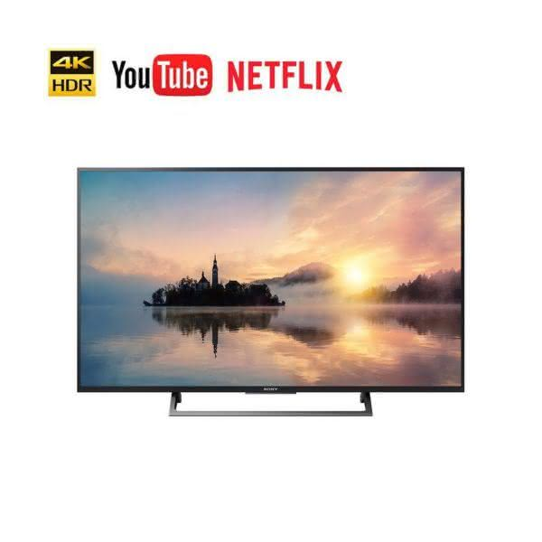 "Smart TV Sony LED 55"" KD-55X705E UHD 4K, HDR, Rádio FM, Miracast"