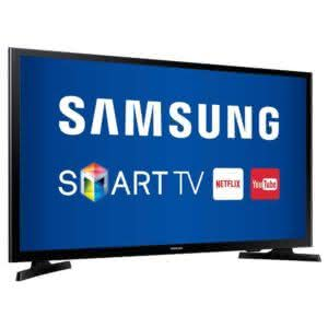 "Smart TV LED 49"" Samsung UN49J5200 Full HD DLNA Wi-Fi Screen Mirroring e Connect Share Movie"