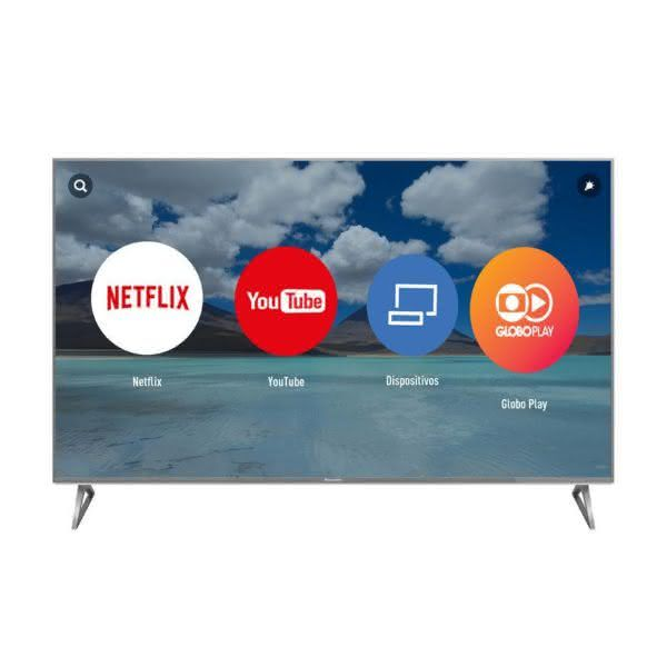 "TV 58"" TC-58EX750B SMART LED 4K ULTRA HD PRO - Cinza - Panasonic"