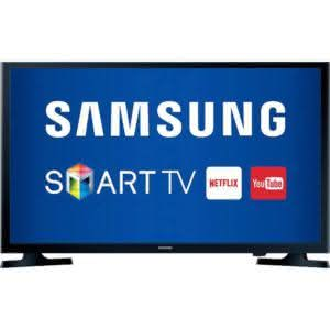 "Smart TV LED 32"" HD Samsung HG32NE595JGXZD Modo Hotel 2 HDMI Wi-Fi Integrado"
