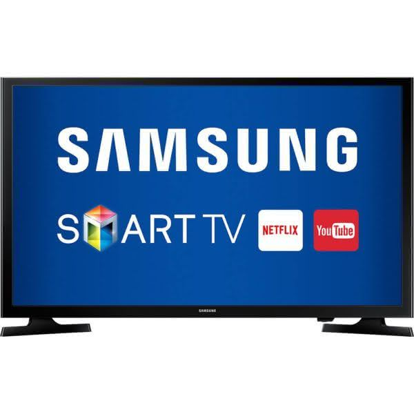"Smart TV LED 49"" Samsung UN49J5200 Full HD DLNA Wi-Fi Screen Mirroring e Connect Share Movie"