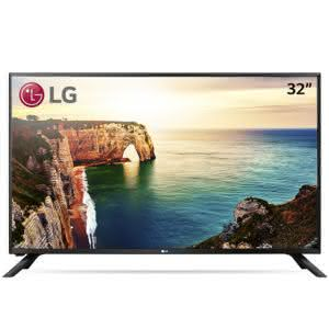 "TV 32"" LG 32LJ500B HD com Conversor digital 1 USB 2 HDMI"