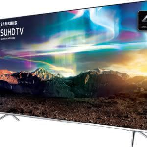 "Smart TV LED 55"" SUHD 4K Samsung 55KS7000 com Pontos Quânticos, HDR 1000, Sistema Tizen, One Control, Design 360° Ultra Slim, Quadcore, HDMI e USB"