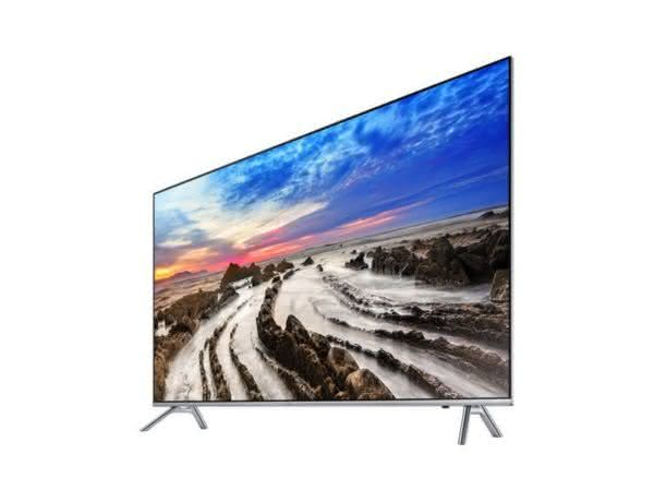 "Smart TV LED 55"" UHD 4K Samsung 55MU7000 com HDR1000, Plataforma Smart Tizen Controle Remoto único, Design 360, One Connect, Smart View, HDMI e USB"