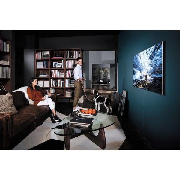 "Smart TV QLED 55"" UHD 4K Samsung 55Q7F QPicture com Pontos Quânticos, HDR1500, QStyle, Design 360, One Connect, QSmart"