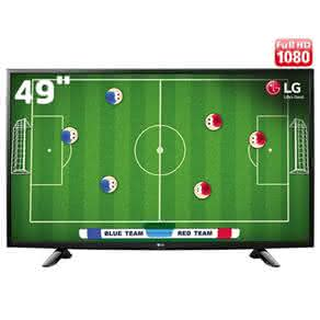 "TV LED 49"" Full HD LG 49LH5150 com Conversor Digital Integrado, Painel IPS, Game TV, Entrada HDMI e USB"