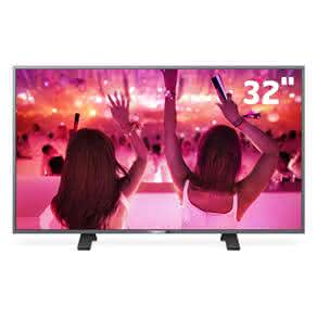 "Smart TV LED 32"" HD Philips 32PHG5201 com Wi-Fi, Pixel Plus, MyRemote, MidiaCast, Entradas HDMI e Entrada USB"