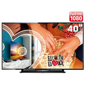 "TV LED 40"" Full HD AOC LE40D1452 com Conversor Digital Integrado,"