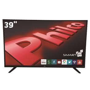 "Smart TV LED 39"" HD Philco PH39U20DSGW com Opera Store, Ginga, Conversor Digital, MidiaCast, PVR,"