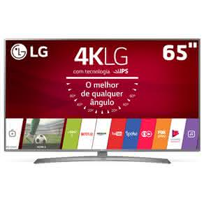 """Smart TV LED 65"""" UHD 4K LG 65UJ6585 com Sistema WebOS 3.5, Painel IPS, HDR, Local Dimming, Magic Mobile Connection"""