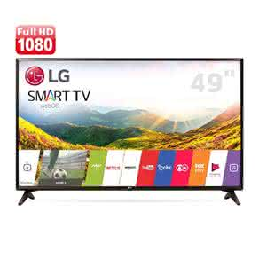 "Smart TV LED 49"" Full HD LG 49LJ5550 com Painel IPS, Wi-Fi, WebOS 3.5, Time Machine Ready, Magic Zoom, Quick Access, HDMI e USB"