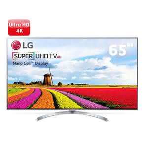 "Smart TV LED 65"" Super Ultra HD 4K LG 65SJ8000 com Sistema WebOS 3.5, Nano Cell, HDR, Local Dimming, Gaming, Controle Smart Magic"