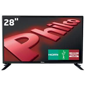 "TV LED 28"" HD Philco PH28D27D com Conversor Digital Integrado, Progressive Scan,"