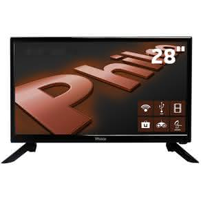 "Smart TV LED 28"" HD Philco PH28N91DSGWA com Conversor Digital Integrado, Som Surround, DNR,"