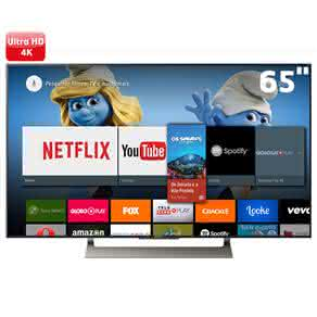 "Smart TV LCD 65"" UHD 4K Sony BRAVIA XBR-65X905E Android, XDR, HDR, Bluetooth, Miracast"