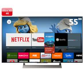 "Smart TV LCD 55"" UHD 4K Sony BRAVIA XBR-55X905E Android, XDR, HDR, Bluetooth, Miracast"