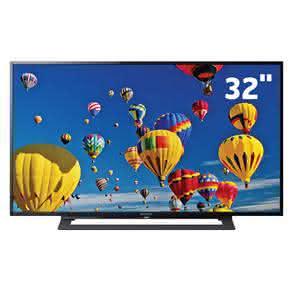"""TV LED 32"""" HD Sony KDL-32R305B com Motionflow 120Hz, Rádio FM, Entrada HDMI e Entrada USB"""