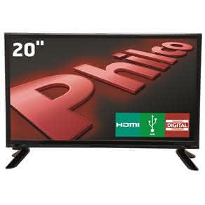 """TV LED 20"""" HD Philco PH20M91D com Conversor Digital Integrado, Som Surround e Entrada HDMI e USB"""