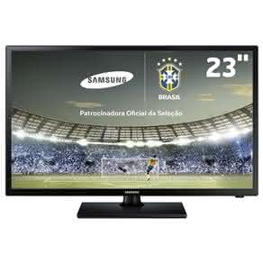 "TV Monitor LED 23"" HD Samsung LT23D310 com FunçãoFutebol, Connect Share Movie e Conversor digital"