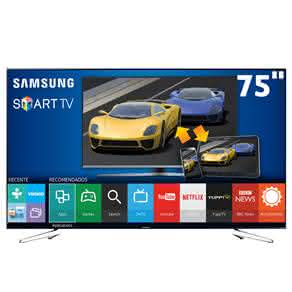 "Smart TV LED 75"" Full HD Samsung 75J6300 com Connect Share Movie, Screen Mirroring,"