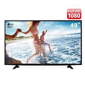 "TV LED 49"" Full HD LG 49LF5100 com Time Machine Ready, Painel IPS, Game TV, Entrada HDMI e Entrada USB"