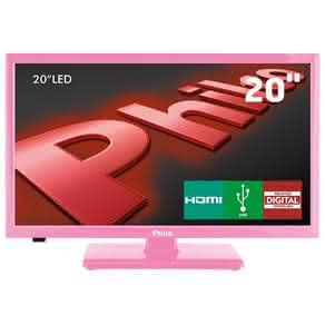 "TV LED 20"" HD Philco PH20U21DR com Receptor Digital,"