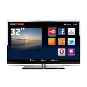 "Smart TV LED 32"" HD Toshiba 32L2400 com Conversor Digital Integrado, Entradas HDMI e Entrada USB"