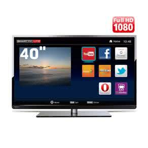 "Smart TV LED 40"" Full HD Toshiba 40L2400 com Conversor Digital Integrado,"