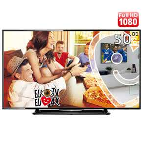 "TV LED 50"" Full HD AOC LE50D1452 com Conversor Digital Integrado,"
