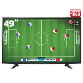 "TV LED 49"" Full HD LG 49LH5100 com Conversor Digital Integrado, Painel IPS, Game TV, Entrada HDMI e USB"