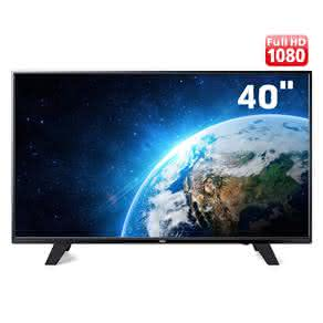 "TV LED 40"" Full HD AOC LE40F1465 com Conversor Digital Integrado, Entradas HDMI e Entrada USB"