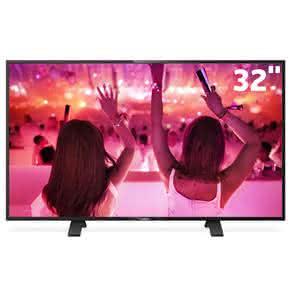"""TV LED 32"""" HD Philips 32PHG5101/78 com Conversor Digital Integrado, Entradas HDMI e Entrada USB"""