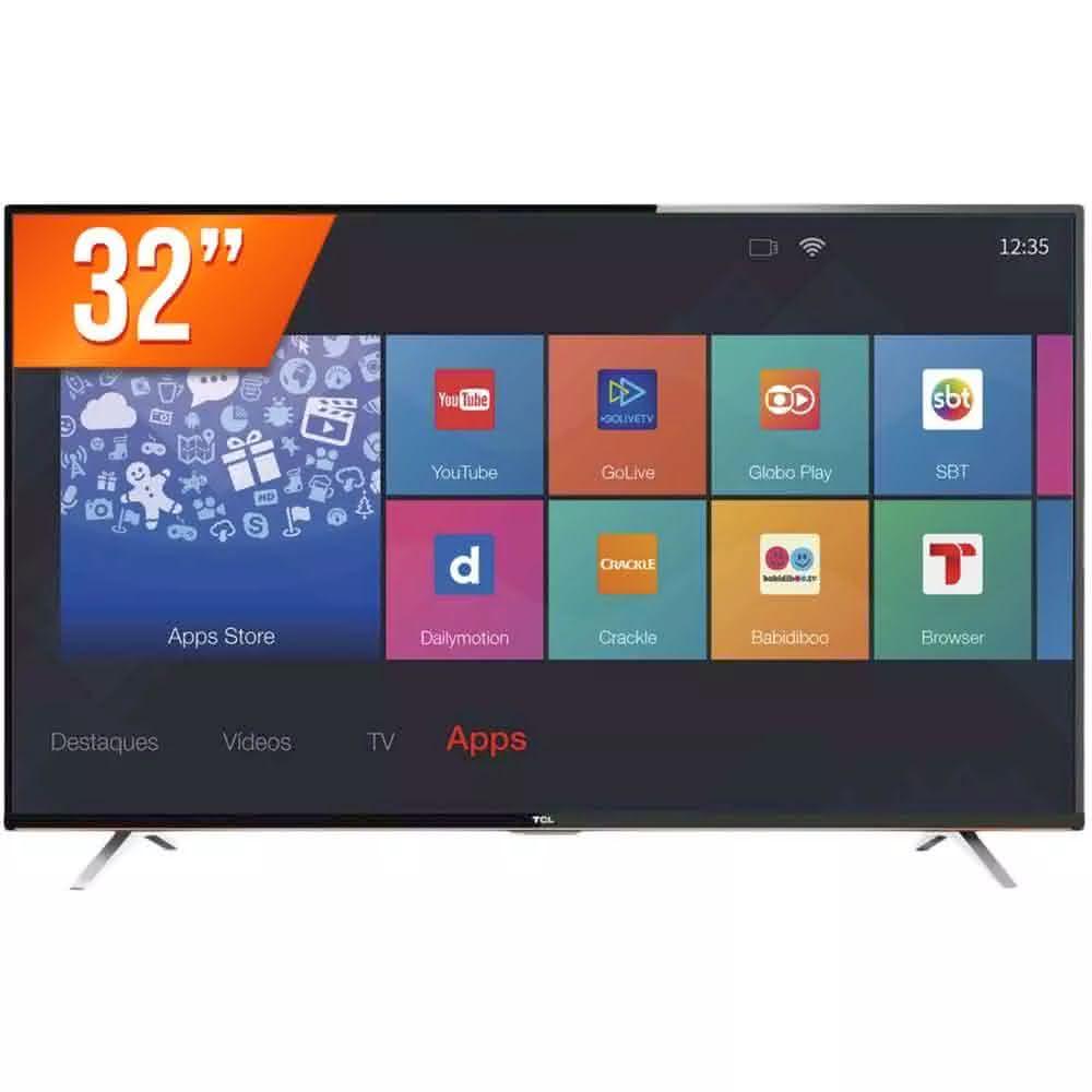 """Dica de ótima Smart TV 32"""" para comprar 2"""