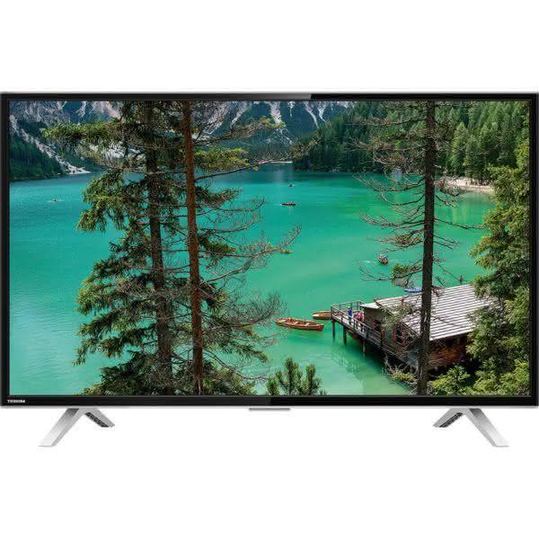 "Smart TV LED 32"" Toshiba 32L2600 HD com Conversor Digital 3 HDMI 2 USB Wi-Fi"
