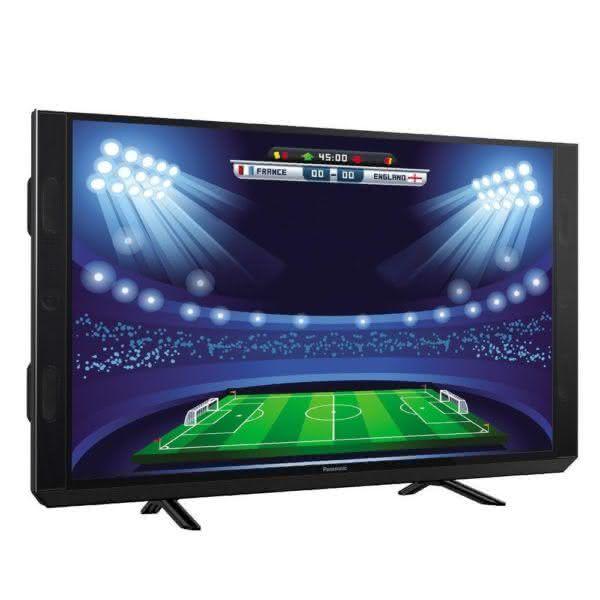 """Smart TV LED 43"""" Panasonic TC-43SV700B Full HD com Wi-Fi 2 USB 3 HDMI Soundbar Integrado Hexa Croma Ultra Vivid e 60Hz"""