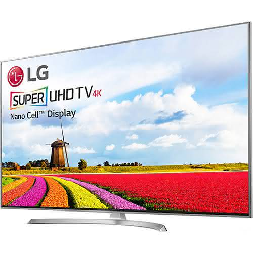 """Smart TV LED 49"""" LG 49sj8000 Ultra HD 4k com Conversor Digital 4 HDMI 3 USB Wi-Fi 240Hz"""