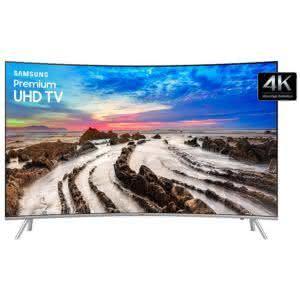 "Smart TV LED 55"" Samsung UN55MU7500 Tela Curva 4K Ultra HD HDR com Wi-Fi 3 USB 4 HDMI e 240Hz"