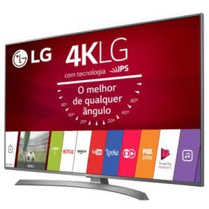 "Smart TV LED 60"" UHD 4K LG 60UJ6585 com Sistema WebOS 3.5, Painel IPS, HDR, Local Dimming, Magic Mobile Connection"