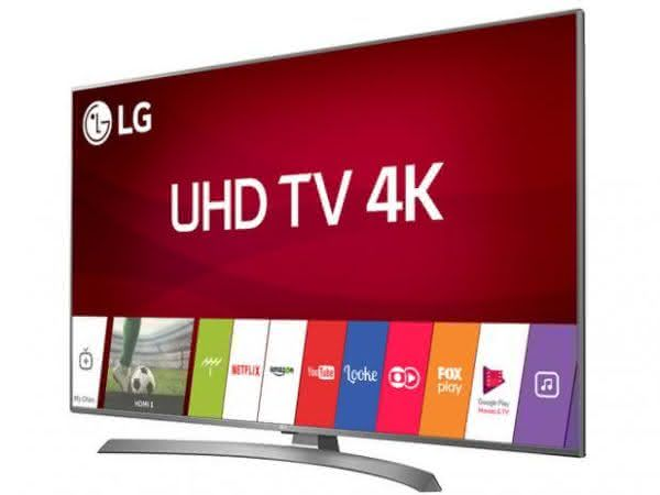"Smart TV LED 70"" UHD 4K LG 70UJ6585 com Sistema WebOS 3.5, Painel IPS, HDR, Local Dimming, Magic Mobile Connection"