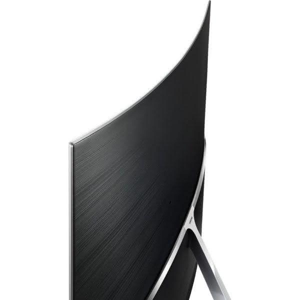 """Smart TV LED 78"""" Samsung Tela Curva 78KS9000 Ultra HD 4K com Conversor Digital 3 US Quantum Dot HDR 1000 Tizen One Control Design 360° - Preta"""
