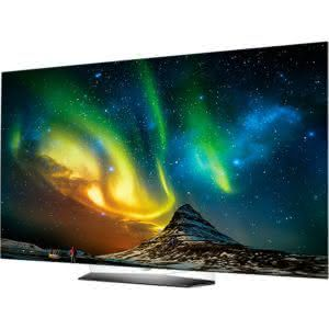 Smart TV OLED 55 LG OLED55B6P Ultra HD 4K com Conversor Digital 4 HDMI 3 USB com Webos 3.0 Oled Hdr Dolby Vision e Ultra Surround 120Hz - PretaCinza
