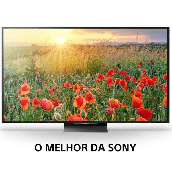 "TV Smart 75"" LED 4K HDR 3D Android Sony XBR-75Z9D ULTRA HD série Z9D"