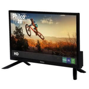 "TV LED 20"" Philco PH20N91D HD com Conversor Digital 1 HDMI 1 USB 60Hz"