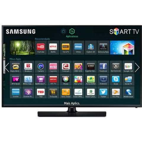 "TV 58"" Samsung Led Smart Full Hd Hdmi Usb - Un58h5203agxzd"