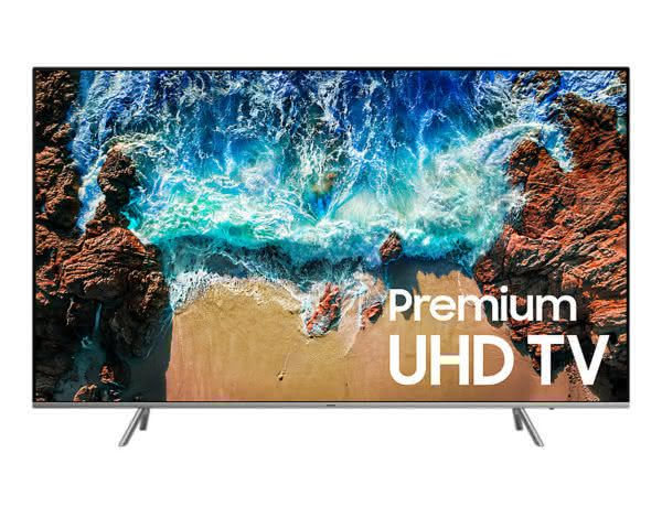 "Smart TV Samsung 75NU8000 75"" 4K UHD, Controle Remoto Único, SmartThings Bixby, Livre de Cabos, HDR 1000, Smart Tizen"