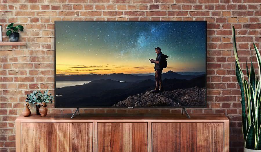 """Smart TV Samsung 49NU7100 49"""" 4K UHD, Livre de Cabos, HDR Premium, Smart Tizen 4"""