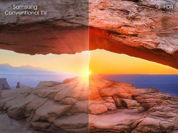 """Smart TV LED Samsung 40NU7100 40"""" 4K UHD, HDR Premium, Smart Tizen"""
